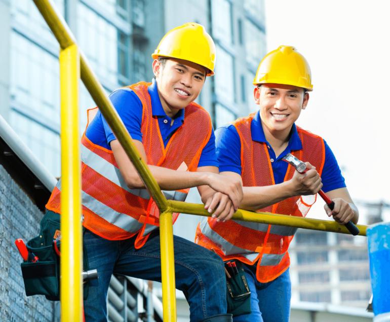 recrutare personal asiatic in constructii